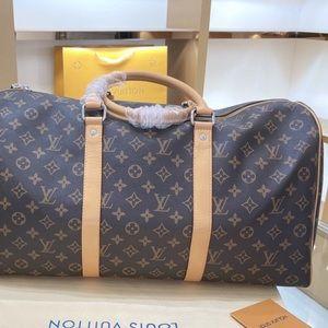 Large Louis Vuitton Luggage Travel Tote Bag